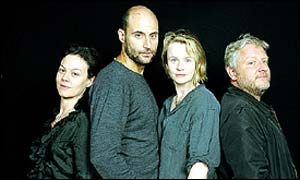 Helen McCrory, Mark Strong, Emily Watson and Simon Russell Beale