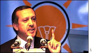 Реждеп Таип Эрдоган, глава турецкой Партии справедливости и развития