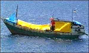 Refugee's boat