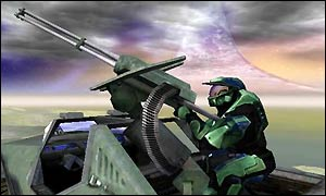 Halo screenshot for the Xbox