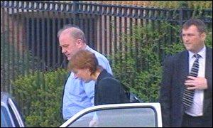 John Owen (left) at court