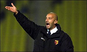 Gianluca Vialli began his managerial career at Chelsea