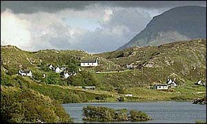 Scottish Highlands is least populated area