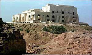 Iraqi presidential palace