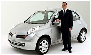 Nissan Motor president and chief executive Carlos Ghosn