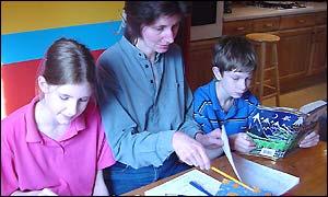 Helen, Heather and Andrew McCombie