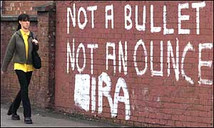 Graffiti in Northern Ireland