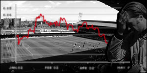 Financial problems are becoming all too apparent for professional football clubs