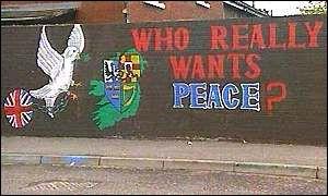 IRA mural in Belfast