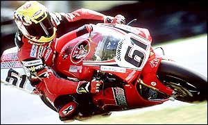 Steve Hislop was shocked to be sacked by the Ducati team
