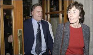 Estelle Morris and John Prescott