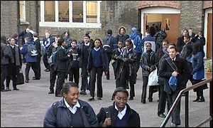 secondary school playground