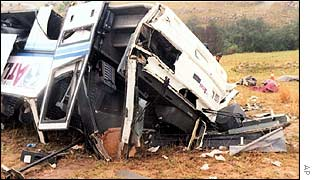 Piet Retief crash in October