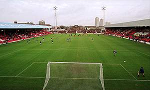 Brentford's current Griffin Park ground