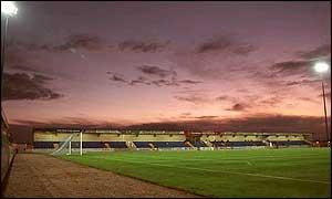 Chester City's Deva Stadium