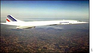 An Air France Concorde