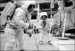 Тренировки для лунных миссий, фото НАСА