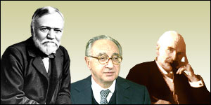 Andrew Carnegie, Lord Weinstock and Jesse Boot
