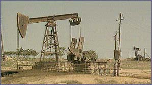 Drilling for oil in Azerbaijan