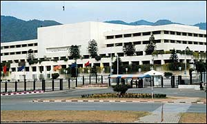 Pakistan's National Assembly building in Islamabad