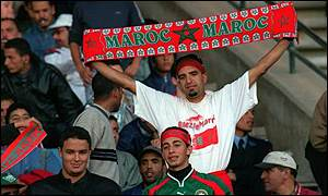 Moroccan supporters
