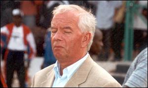 Zambia's former coach Jan Brouwer