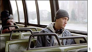 Eminem in the film 8 Mile