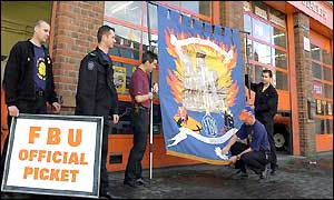 Firefighters in Yorkshire prepare to strike