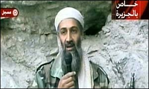 Bin Laden on Al Jazeera television