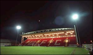 Woking's Kingfield Stadium