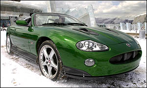 Jaguar featured in Die Another Day