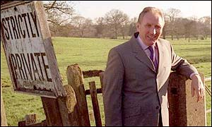 Former FA technical director Howard Wilkinson at the Burton site in 2001