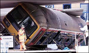 Seven died in the rail crash in May