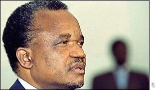Former President Frederick Chiluba