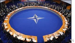 Nato leaders meeting in Prague