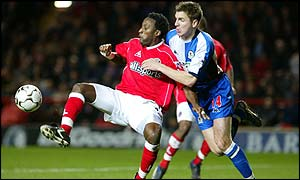Jason Euell rounded off the scoring in injury-time
