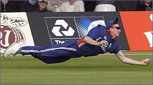 James Kirtley's memorable diving catch at Lord's