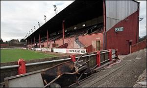 Falkirk's Brockville Stadium