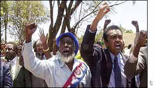 Somali peace delegates