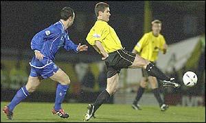 Burton's player-manager Nigel Clough