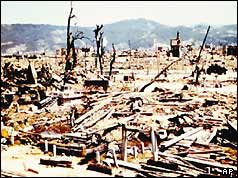 An image we should all burn into our minds – Hiroshima after the A-bomb.