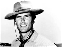Clint Eastwood in the 60s TV series, Rawhide