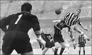 John Charles in his Juventus days