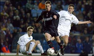 Charlton's Scott Parker goes on the run that leads to the sensational winner at Leeds