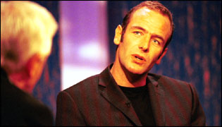 Robson Green on the BBC's Parkinson chat show
