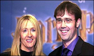 Joanne Kathleen Rowling and husband Neil Murray