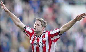 Southampton striker James Beattie