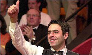 Ronnie O'Sullivan has won the title three times
