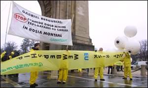 Greenpeace rally