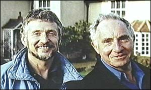 Trevor Bentham and Sir Nigel Hawthorne